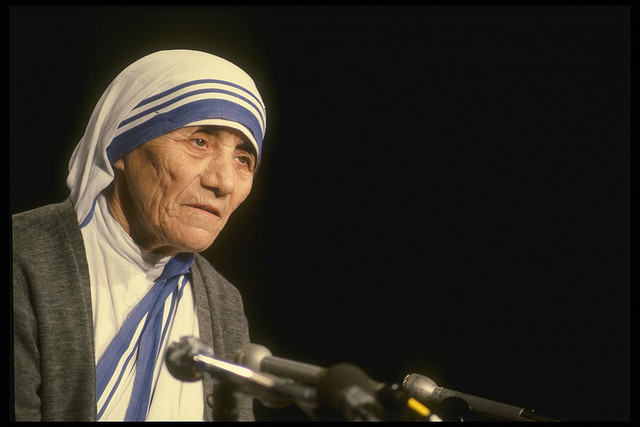 Two Things Athletes Can Learn from Mother Teresa